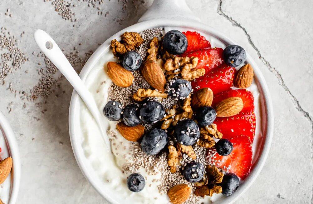 huttekase ontbijtbowl